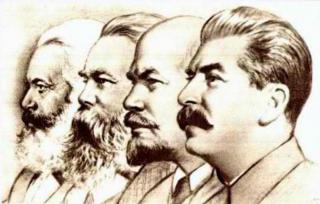 Marx, Engels, Lenin, Stalin